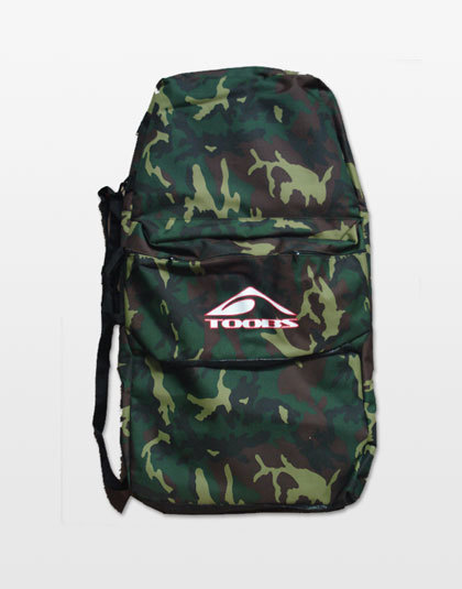 Camo canvas board bag from Toobs